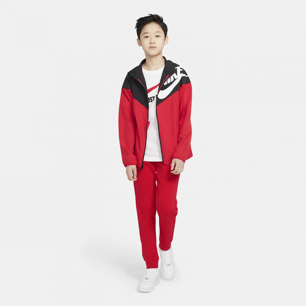Nike Sportswear Swoosh Παιδικό Παντελόνι Φόρμας