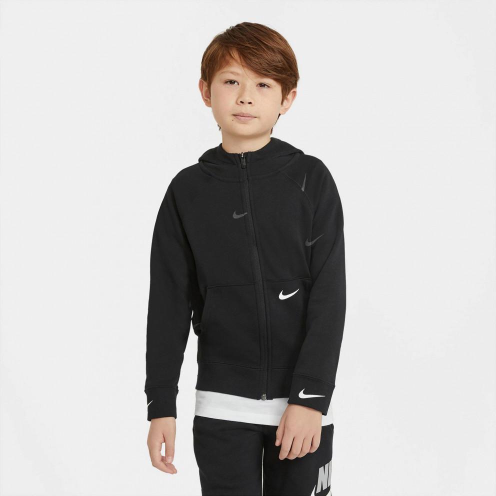 Nike Sportswear Swoosh Fleece Παιδική Ζακέτα