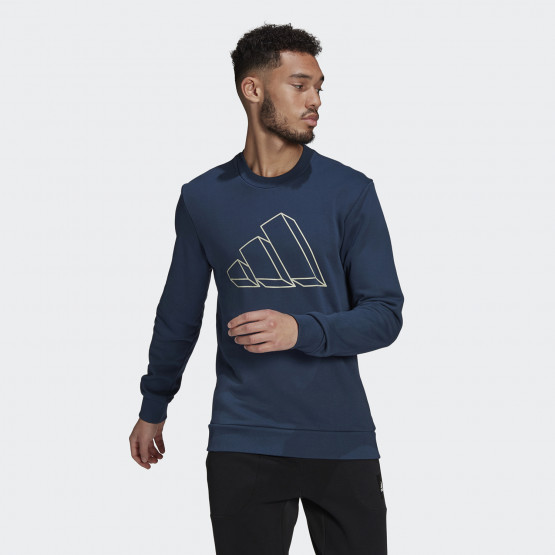 adidas Performance Sportwear Graphic Crew Ανδρικό Φούτερ