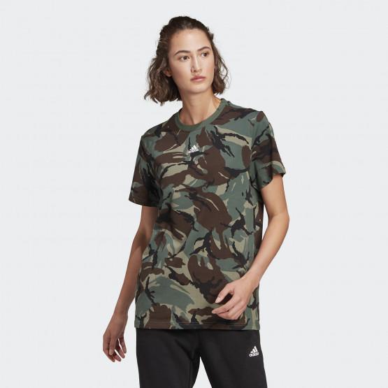 adidas Performance  Camo Boyfriend Camouflage Γυναικεία Μπλούζα