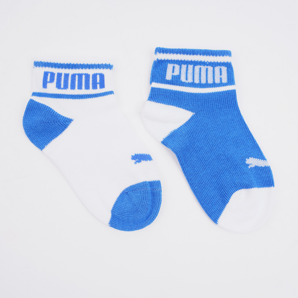 Puma Baby Wording Socks Βρεφικές Κάλτσες