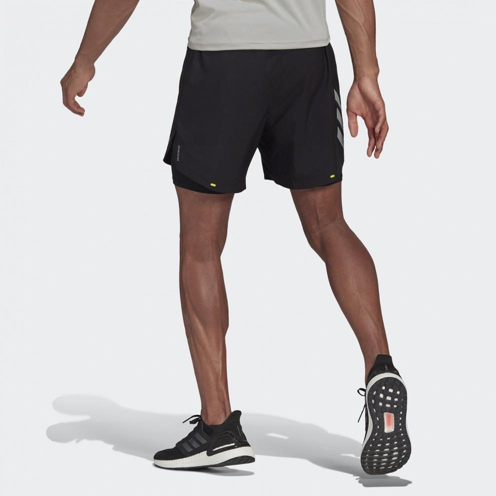 adidas Performance Fast 2-In-1 Ανδρικό Σορτς