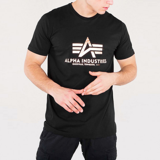 Alpha Industries Basic Foil Ανδρικό T-Shirt