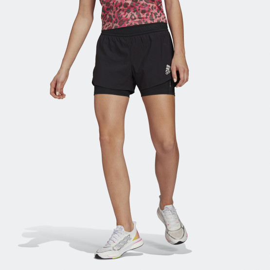 adidas Fast Primeblue Two-In-One Woman's Shorts
