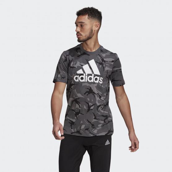 adidas Performance Essentials Camouflage Ανδρικό T-shirt