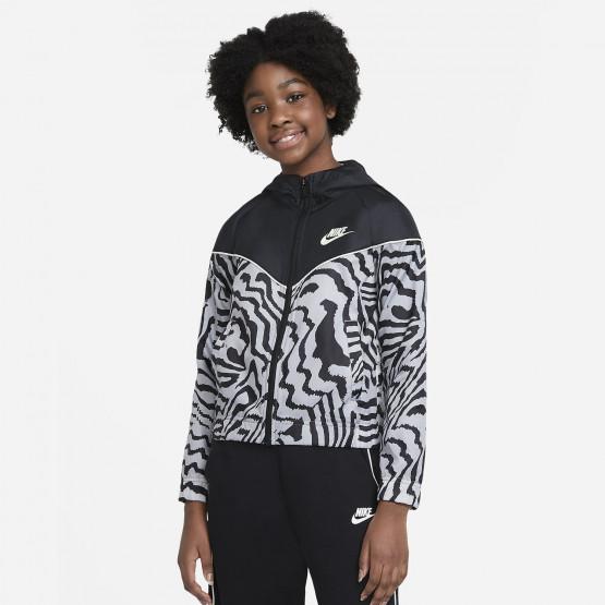 Nike Sportswear Windrunner Παιδικό Αντιανεμικό Μπουφάν