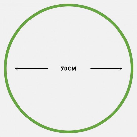 Amila Χούλα-Χουπ 70Cm - Φ19Mm - 280Gr, Πράσινο
