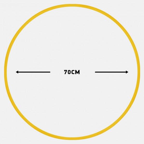 Amila Χούλα-Χουπ 70Cm - Φ19Mm - 280Gr, Κίτρινο