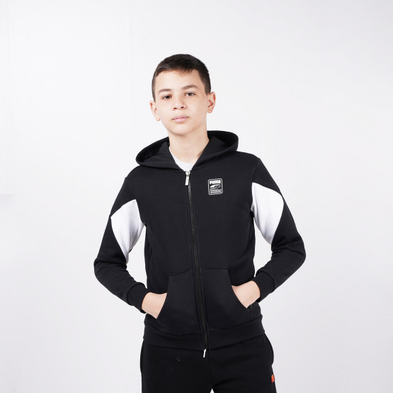 Puma Rebel Block Kids' Hooded Jacket