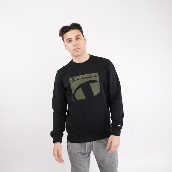 Champion Crewneck Sweatshirt Ανδρικό Φούτερ