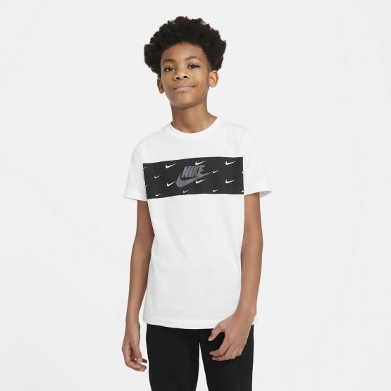 Nike Sportswear Panel Futura Παιδικό T-shirt