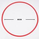Reinhart Στεφάνι Ρυθμικής Γυμναστικής 80cm - Φ2cm - 300gr, Κόκκινο