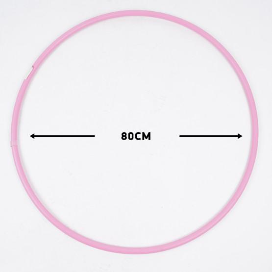 Reinhart  Στεφάνι Ρυθμικής Γυμναστικής 80cm - Φ2cm - 300gr, Ροζ