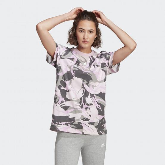 adidas Performance Essentials Camouflage Γυναικείο T-shirt