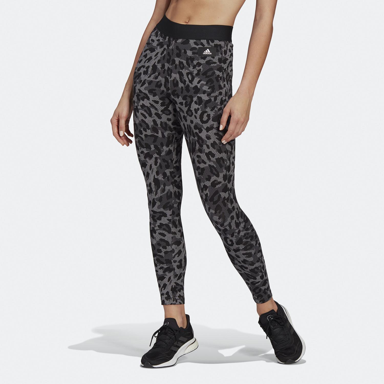 adidas Performance Leopard-Print Cotton Γυναικείο Κολάν (9000068936_28086)