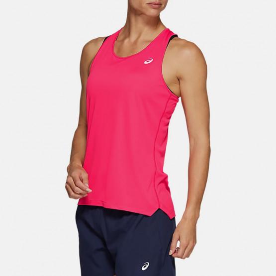 Asics Silver Γυναικεία Αμάνικη Μπλούζα
