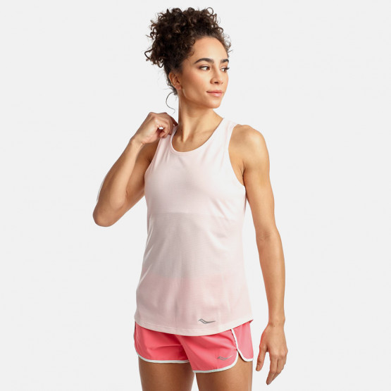 Saucony Stopwatch Singlet Γυναικεία Αμάνικη Μπλούζα