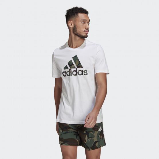 adidas Performance Essentials Camouflage Print Ανδρική Μπλούζα