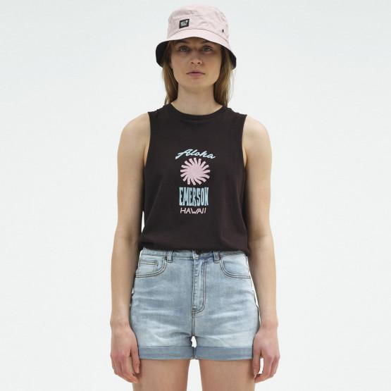 Emerson Γυναικεία Αμάνικη Μπλούζα