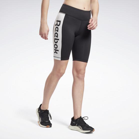 Reebok Sport Linear Logo Women's Long Shorts