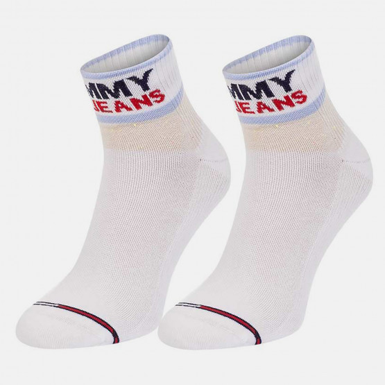 Tommy Jeans Cushioned Quarter Unisex Socks