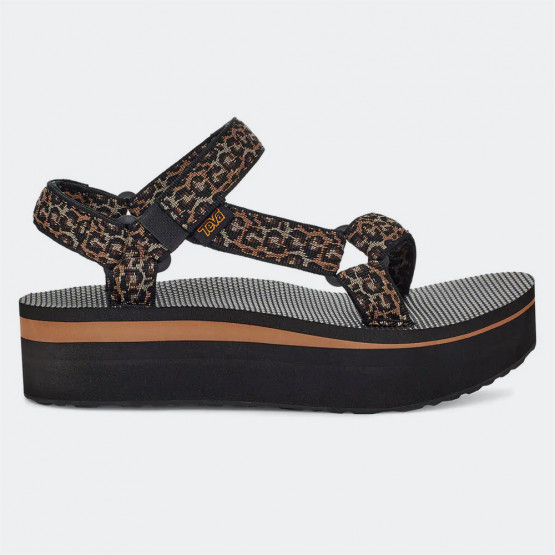 Teva Universal Mettalic Woman's Flatform Sandals
