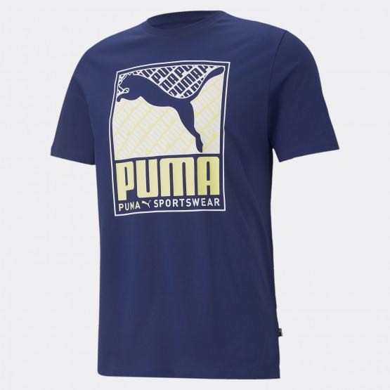 Puma Cat Box Men's T-Shirt