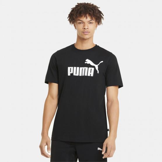 Puma Essentials Logo Ανδρικό T-Shirt