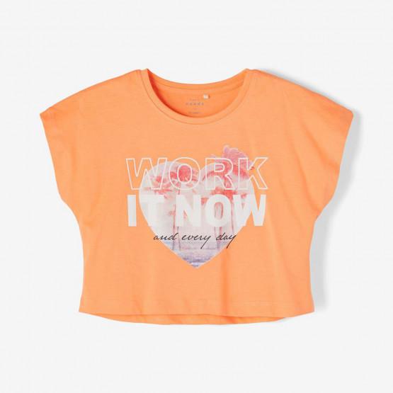 Name it Pinted Crop Kids' T-shirt