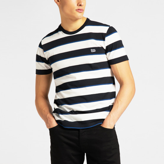 Lee Ss Stripe Tee Black