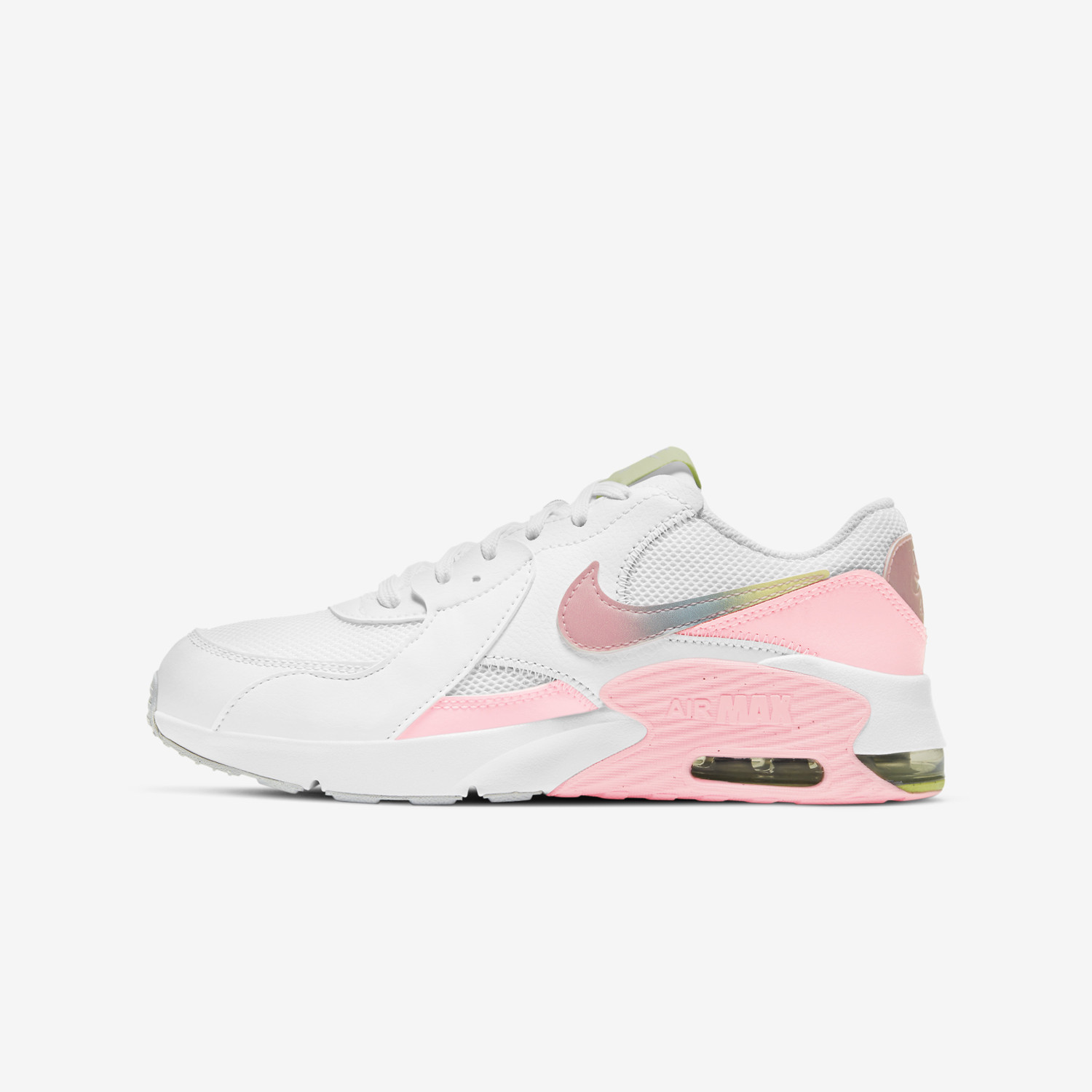 Nike Air Max Excee Mwh (Gs) WHITE/MULTI-COLOR-PURE PLATINUM CW5829-100