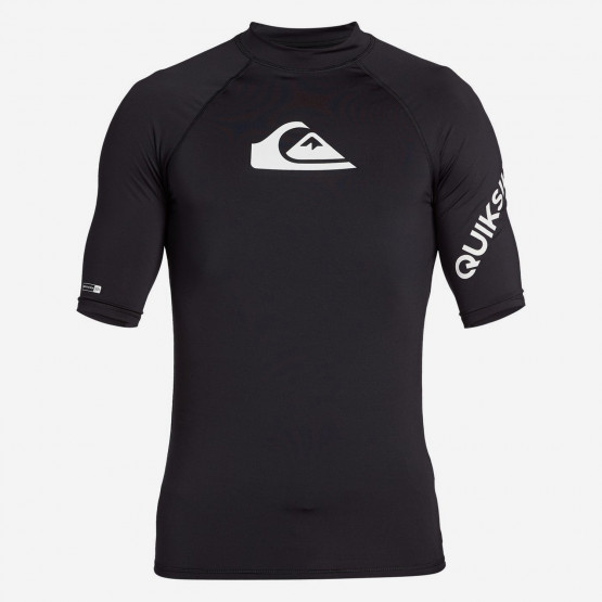 Quiksilver All Time Ανδρικό T-Shirt Προστασίας Από Τον Ήλιο