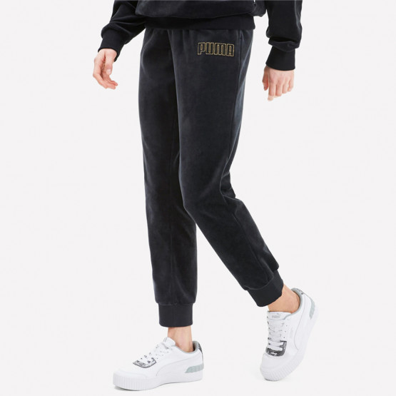 Puma Modern Basics Velour Pants cl