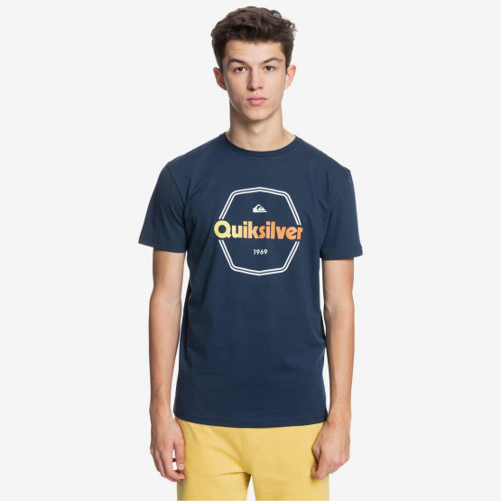 Quiksilver Hard Wired Ανδρικό T-Shirt