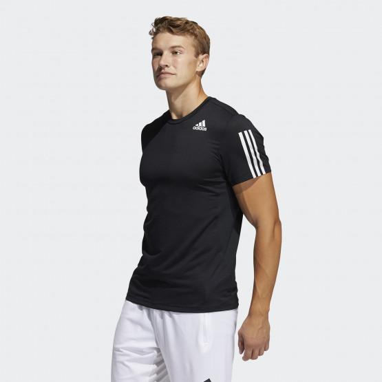 adidas Performance Techfit  3-Stripes Ανδρική Μπλούζα