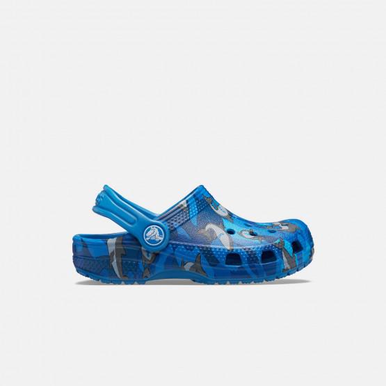 crocs Classic Shark Clog PS