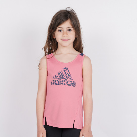 adidas Performance Designed To Move Leopard Women's Tank Top