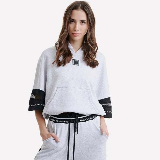 BODYTALK Trainforw Loose Γυναικεία Μπλούζα με Κουκούλα