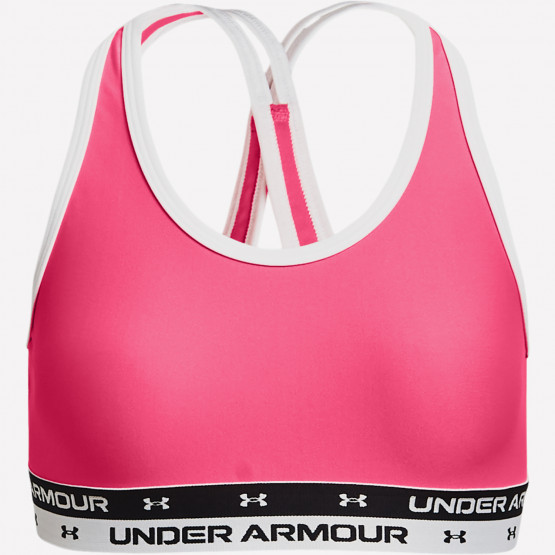 Under Armour Crossback Solid Παιδικός Στηθόδεσμος