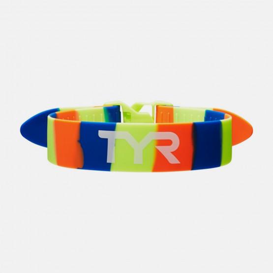 TYR Training Pull Strap  Yellow/Blue