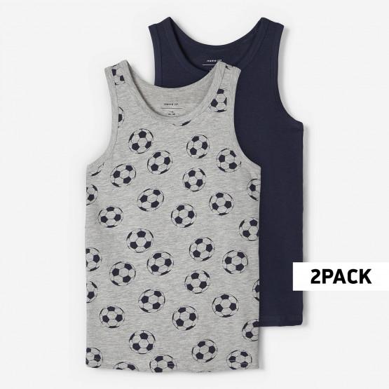 Name it Nkmtank Top 2P Grey Mel Football Noos