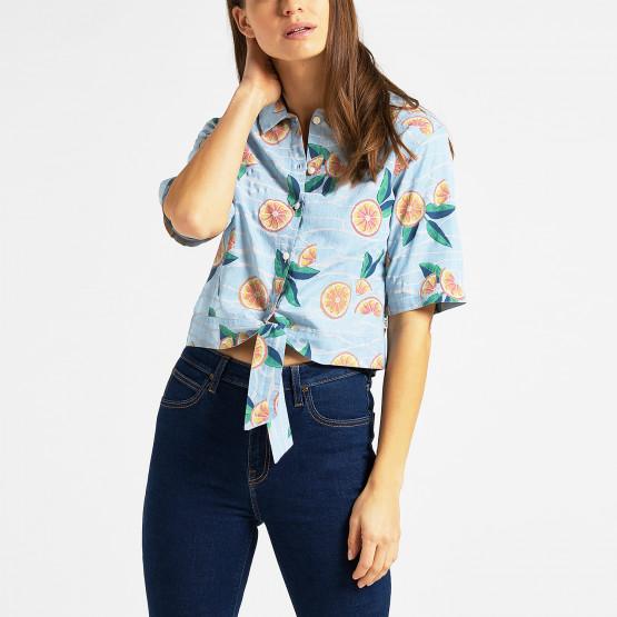 Lee Knotted Resort Shirt Piscine Γυναικείο Πουκάμισο