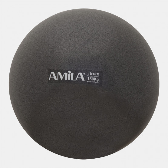 Amila Pilates Ball 19Cm, Black, In Box
