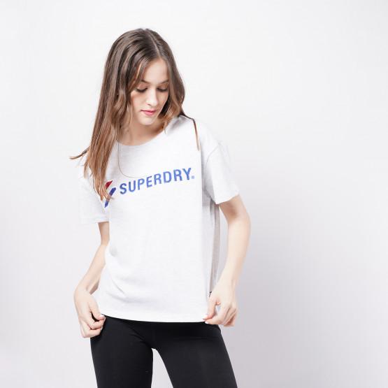 Superdry Sportstyle Graphic Boxy Γυναικεία Μπλούζα