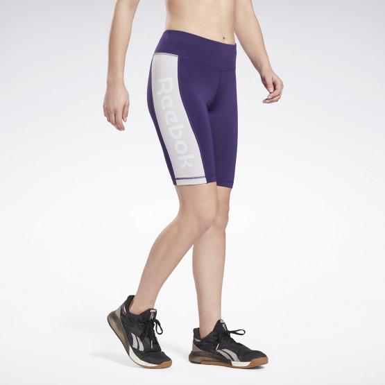Reebok Linear Logo Fitted Women's Shorts