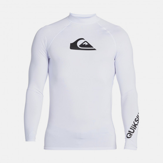 Quiksilver All Time UPF 50 Ανδρικό UV T-shirt με Μακρύ Μανίκι