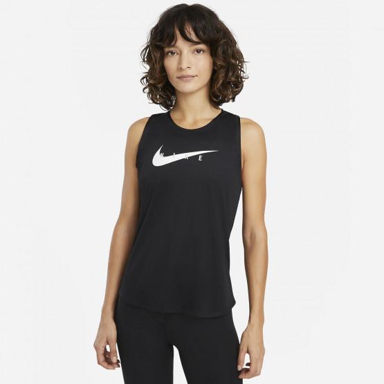 Nike Swoosh Run Γυναικεία Αμάνικη Μπλούζα