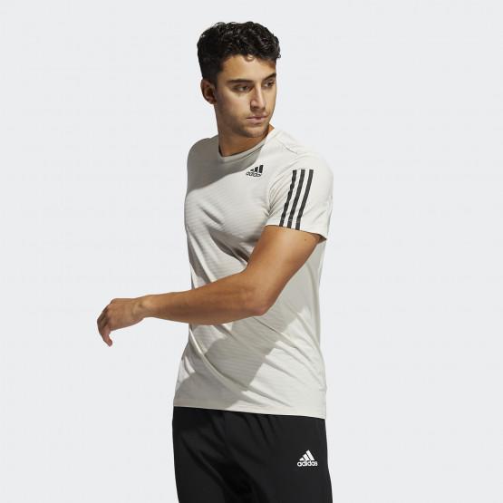 adidas Performance Primeblue Aeroready 3-Stripes Slim Men's T-shirt