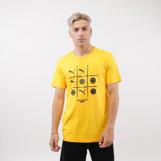 Puma Club Graphic Ανδρικό T-Shirt