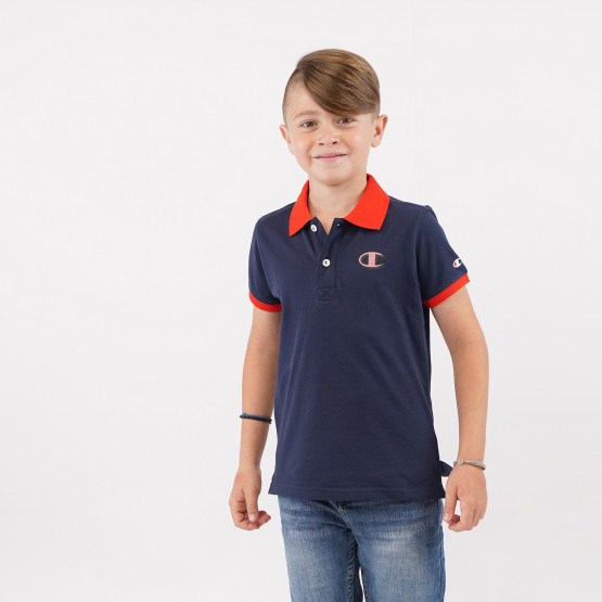 Champion Παιδικό Polo T-shirt